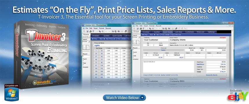 What Is A Paypal Invoice Excel Tinvoicer  Screen Printing Estimating Invoice Program  Ebay Close Invoice Pdf with Sears E Receipt Word Cd Return To Walmart Without Receipt Excel